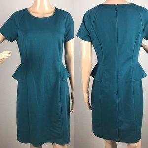 Mossimo peplum dress sz M